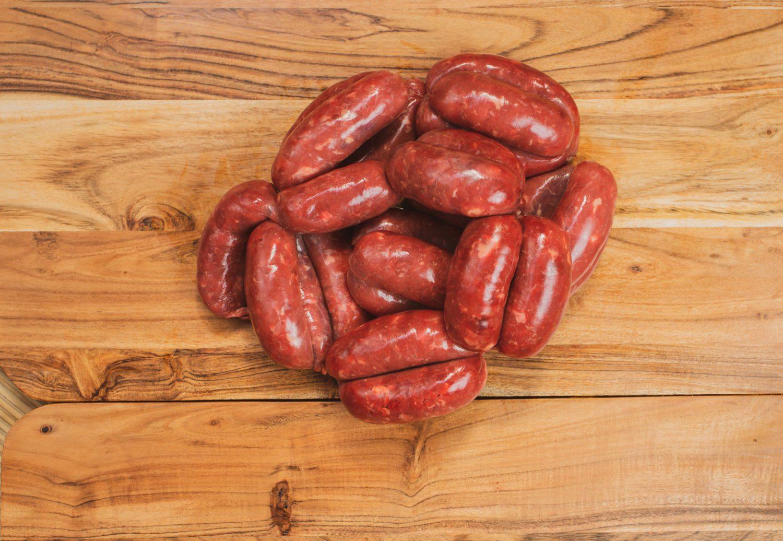 100% Beef Sausages