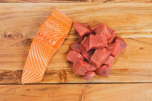 Lamb & Salmon